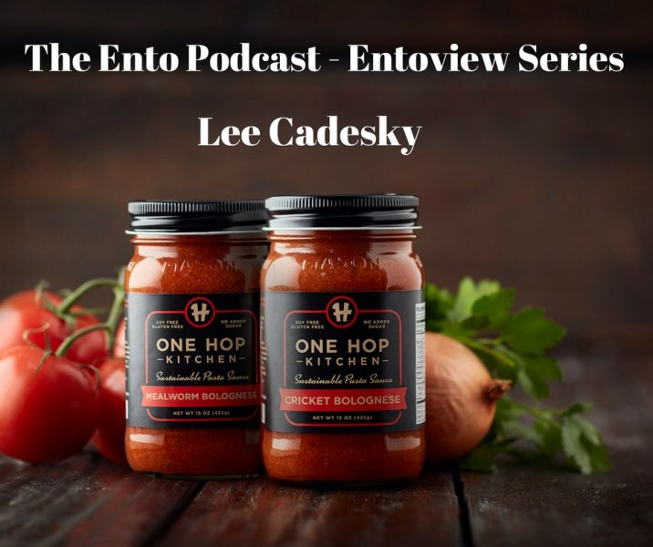 Entoview Series | Lee Cadesky from One Hop Kitchen