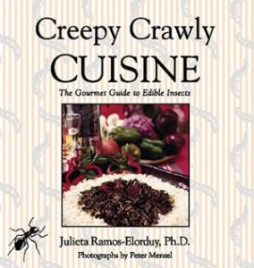 eating insect cookbook